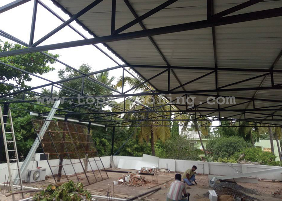 Pre Engineering Buildings Light Weight Roofing Sheets